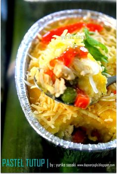 Dapoer Joglo: Pastel Tutup Zuppa Soup, Broccoli Recipes, Dessert Recipes, Desserts, Cake Cookies, Baked Potato, Macaroni, Food And Drink, Pastel