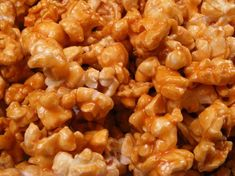 Fantastic caramel corn recipe, paper bag method.     You can also make candy popcorn with jello; substitute white sugar for the brown sugar and add 1 (3 1/2 ounce) package Jello gelatin, any flavor.