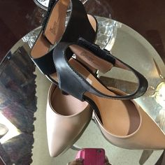 Brand new WOT. Steve Madden pumps Never been worn. Ankle strap has Velcro closure.  These are beautiful. Steve Madden Shoes Heels