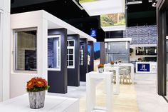 Innovative stand - Reynaers Aluminium