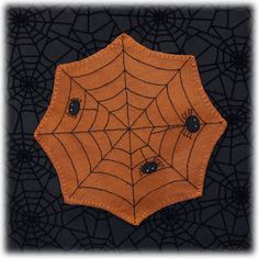 "This 12"" mat is perfect for using under any of your Halloween decorations or a grouping of Halloween clay mini pieces."