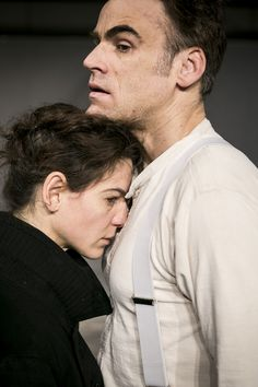 #Zement von Heiner Müller mit Bibiana Beglau und Sebastian Blomberg  www.residenztheater.de/inszenierung/zement  #Theater #stage #Residenztheater #Resi #munich