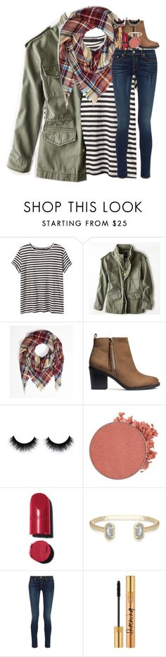 """""""packing for scotland!"""" by lindsaygreys ❤ liked on Polyvore featuring Proenza Schouler, American Eagle Outfitters, H&M, Anastasia Beverly Hills, Chanel, Kendra Scott, rag & bone and Yves Saint Laurent"""
