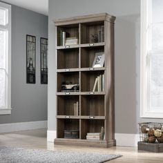 Sauder Barrister Lane Bookcase II & Reviews | Wayfair