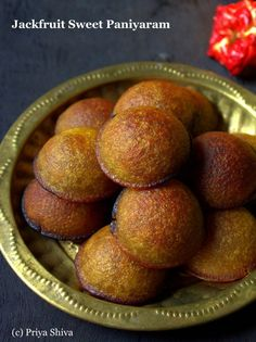 Cook Chakka Nei Appam / Jackfruit Sweet Paniyaram in the comfort of your home with BetterButter. Tap to view the recipe! Jackfruit Season, Jackfruit Recipes, Indian Desserts, Indian Sweets, Indian Dishes, Indian Food Recipes, Indian Foods, Kerala Recipes, Recipes