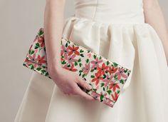 ila handbags, audrey, stems and blossoms