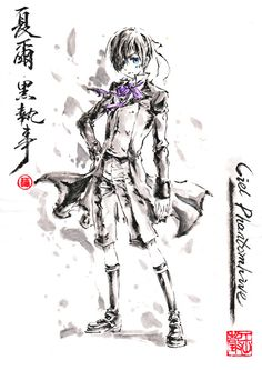 pixiv is an online artist community where members can browse and submit works, join official contests, and collaborate on works with other members. Black Butler 3, Black Butler Anime, Manga Anime, Anime Art, Sebastian Ciel, Hand Drawing Reference, Vocaloid Cosplay, Black Butler Kuroshitsuji, Ciel Phantomhive