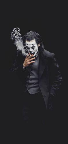 Joker Fan Edited 2019 Mobile Wallpaper - Best of Wallpapers for Andriod and ios Art Du Joker, Le Joker Batman, Batman Joker Wallpaper, The Joker, Joker Iphone Wallpaper, Joker Wallpapers, Joker And Harley, Dark Wallpaper, Tumblr Wallpaper