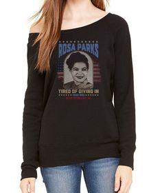 Women's Rosa Parks Scoop Neck Fleece - Juniors Fit