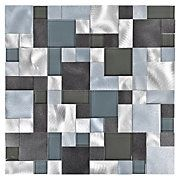 Moondrop Water Jet Cut Glass Mosaic   Cut glass, Mosaics and Jets