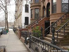 At one point in Brooklyn, you've seen these classic brownstones...(Park Slope)!