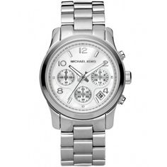 Michael Kors Watches Women's Michael Kors Midsized Chronograph Watch... ($270) ❤ liked on Polyvore