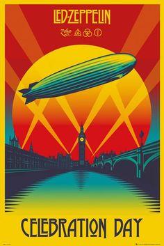Led Zeppelin - Celebration Day - plakat   Sklep ePlakaty.pl