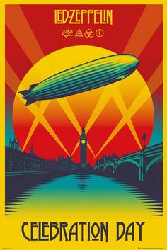 Led Zeppelin - Celebration Day - plakat | Sklep ePlakaty.pl