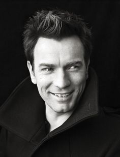 Ewan McGregor - I love this pic. That is the dirtiest grin EVAR.