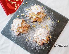 Blog de cuina de la dolorss: Arbolitos de Navidad con galletas de mantequilla