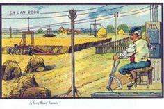 Era assim que em 1900 se imaginava o ano 2000