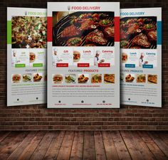 Food Flyer Template by Leza on Creative Market