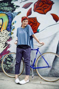 Girls On Bicycles! » FIXED GEAR GIRL TAIWAN