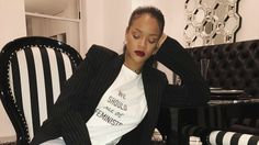 Proceeds From Dior's 'We Should All Be Feminists' T-Shirts Will Benefit Rihanna's Charity. The tees — first seen on Dior's Spring 2017 runway — will be available through May.