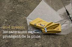 DIY inspiration ciré jaune tissu Poussière d'or Frou-Frou Collection A bicyclette création Seven Lane