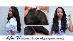 Easy Lace Frontal Wig Tutorial For Beginners (NO GLUE) | MyFirstWig by RPG SHOW - YouTube