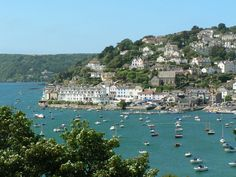 Welcome to Salcombe. Many wonderful summers in England spent here enjoying far too much ice cream!
