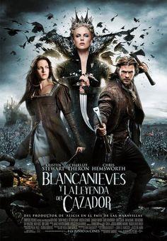 Blancanieves y la leyenda del cazador.  Historia de espada y brujeria de un cuento! Quien lo iba a decir.