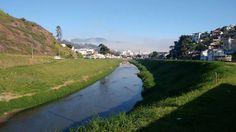 Rio Paraibuna altura do Bairro de Lourdes