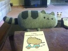 Ravelry: Pusheen the cat pattern by EmmasAnimalCreations