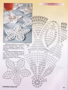 Kira scheme crochet: Scheme crochet no. Crochet Doily Diagram, Crochet Motif Patterns, Crochet Lace Edging, Crochet Mandala, Crochet Designs, Crochet Doilies, Crochet Flowers, Crochet Stitches, Crochet Gifts