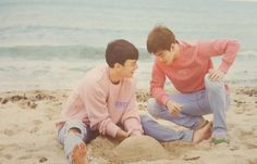 EXO Fiji Photobook Dear Happiness (chen, suho)