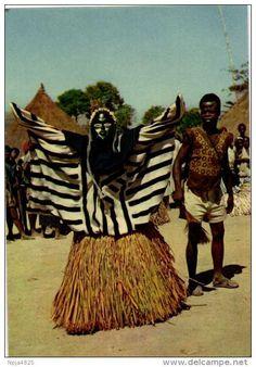 Masque Africain Guéré wobé Cote d'Ivoire