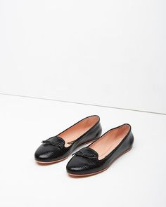 ab1bcdb177f smoking flat   rochas - flat shoes that will go with everything and that  look chic with no effort