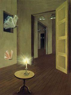 Insomnio I (1947. Gouache sobre cartulina. 28 x 22 cm)