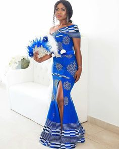 Awesome latest african fashion look . Best African Dress Designs, Best African Dresses, African Wedding Dress, African Traditional Dresses, African Attire, African Fashion Dresses, African Outfits, Ankara Fashion, African Print Fashion