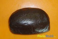 Čokoládová potahovací a modelovací hmota Czech Recipes, Marzipan, Pavlova, Sweet Recipes, Fondant, Avocado, Chocolate, Fruit, Cooking
