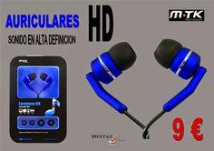 Digit@L Chip - Informática - Sonido: MTK - AURICULARES HD