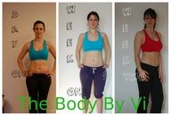 My week 2 results comparison. @ViSalus The NEW Body by Vi 2013.  www.bodybyvisite.com
