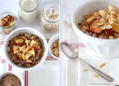 Rezept Weihnachtliches Porridge mit Apfel und Zimt