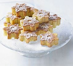 Bake these zesty little cakes in a snowflake mould and dust with icing sugar for a festive feel, from BBC Good Food. Bbc Good Food Recipes, Baking Recipes, Cake Recipes, Cardamom Cake, Snowflake Cake, Christmas Lunch, Christmas Goodies, Merry Christmas, New Year's Cake