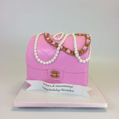 3D Chanel bag Cakes