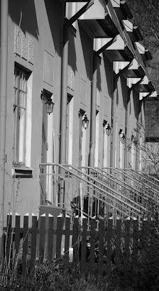 Enskede, suburb of Stockholm, one of the first gardenvillages built in 1909. Visit in springtime with all appleblossom gardens. Dont miss out Gamla Enskede Bakery or Gamla Enskede Matbod!