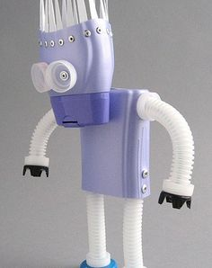 Toy Art made of recycled materials
