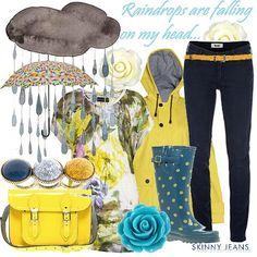 Rain rain..   Women's Outfit   ASOS Fashion Finder