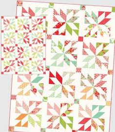 Lucky Quilt Pattern Download by Thimble Blossoms now available at ConnectingThreads.com