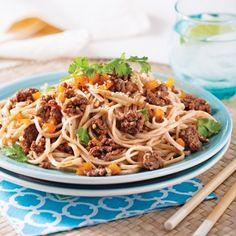 Bœuf à la coréenne sur nouilles udon - Recettes - Cuisine et nutrition - Pratico Pratique