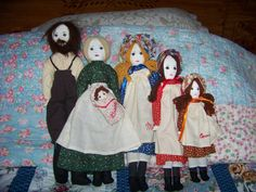 Fivedoll Set Little House on Prairie Laura by RamshackleVilla, $65.00