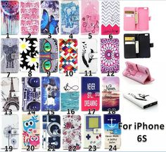 Cheap cover mini, Buy Quality cover plane directly from China cover smart Suppliers: For Apple Iphone 6 Case Flip Wallet PU Leather Card Slots Owl Bear Tower elephant butterfly camera Pattern Phone Covers Apple Iphone 6, Leather Case, Pu Leather, Leather Wallet, Wallet Pattern, Leather Pattern, Butterfly Pattern, Salt, Bears