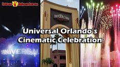 Universal Orlando's Cinematic Celebration Nighttime Spectacular - Full S... Universal Studios Parking, Universal Orlando, Illumination Sing, Water Projection, Disney Water Parks, Florida Theme Parks, Volcano Bay, Vacation Resorts, Disney Toys